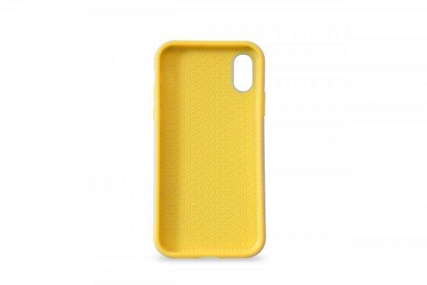 KMP Etui sportowe do iPhone X (szary/żółty)