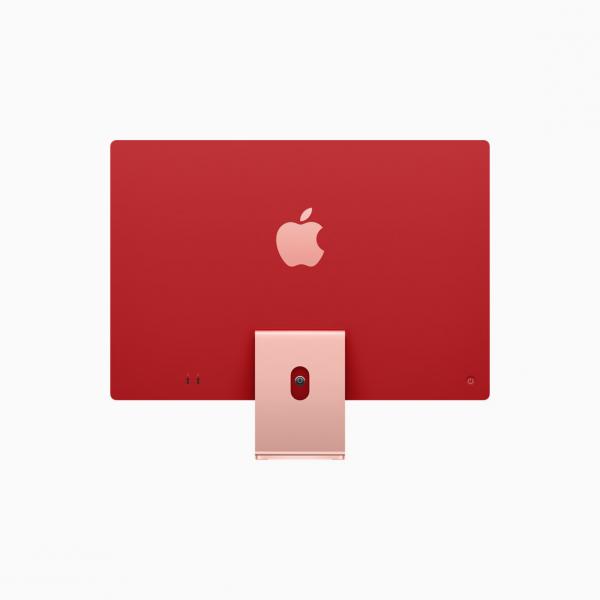 "Apple iMac 24"" 4,5K Retina M1 8-core CPU + 7-core GPU / 8GB / 256GB SSD / Różowy (Pink) - 2021"