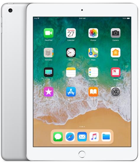 iPad 6-gen 9,7 128GB Wi-Fi Silver