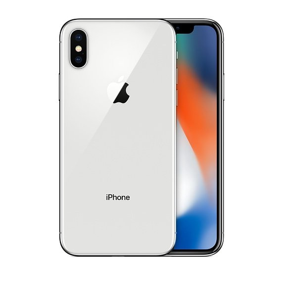 Apple iPhone X 64GB (Silver)