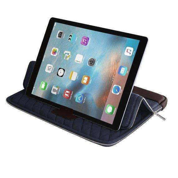 KMP Sleeve Pokrowiec do MacBook Pro 13 / iPad Pro 12,9 Blue / Brown (niebiesko-brązowy)