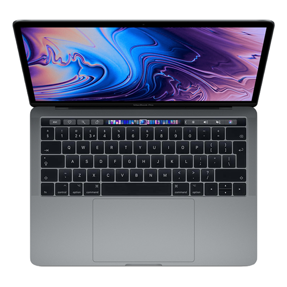 MacBook Pro 13 Retina Touch Bar i5 1,4GHz / 8GB / 512GB SSD / Iris Plus Graphics 645 / macOS / Space Gray (2019)