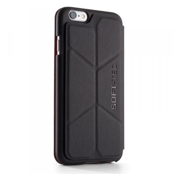 Element Case Soft-Tec Wallet Etui do iPhone 6 / 6s Black (czarny)