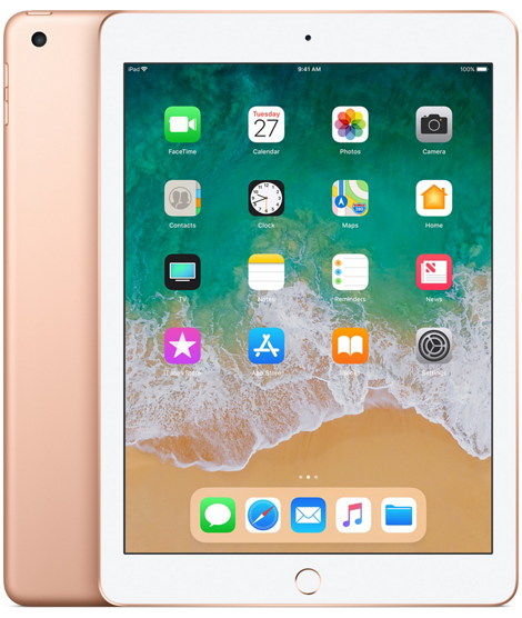iPad 6-gen 9,7 32GB Wi-Fi Gold