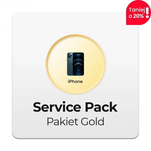 Service Pack - Pakiet Gold 2Y do Apple iPhone