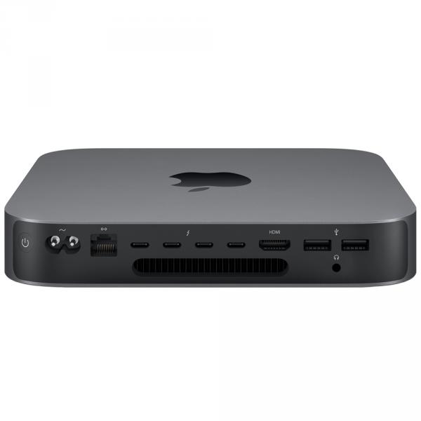Mac mini i7-8700 / 8GB / 256GB SSD / UHD Graphics 630 / macOS / Gigabit Ethernet / Space Gray
