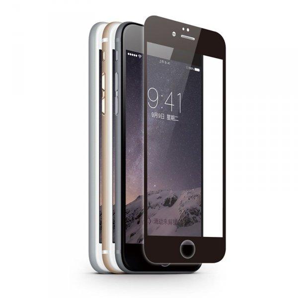 KMP Szkło ochronne na iPhone 6S/6 (czarny)