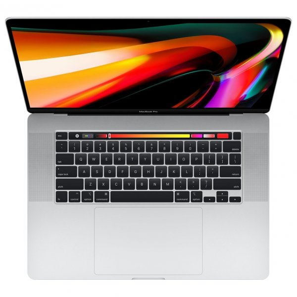 MacBook Pro 16 Retina Touch Bar i7-9750H / 16GB / 512GB SSD / Radeon Pro 5500M 8GB / macOS / Silver (srebrny)