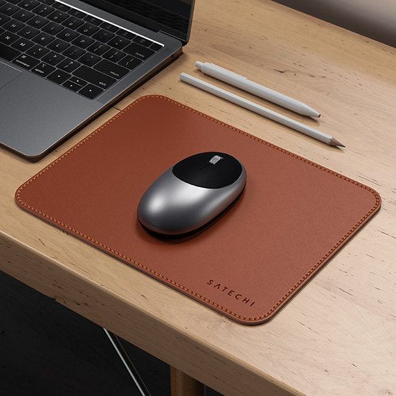 Satechi ECO Leather Mouse Pad dla Apple Magic Mouse 2 Brown (brązowy)