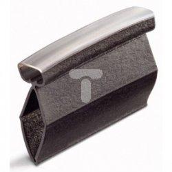 Tulejki oznacznikowe długość 23mm czarne do żył 6-16mm2 211-125
