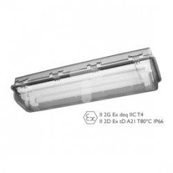 Oprawa przeciwwybuchowa 2x36W E840 236 IP66 strefa 1,21 oraz 2,22 31-840-2360