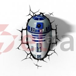 Lampka dekoracyjna LED 3DFX SW R2-D2 15217