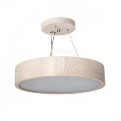 Oprawa wisząca E27 60W JASMIN 270-W-H biały dąb 23750