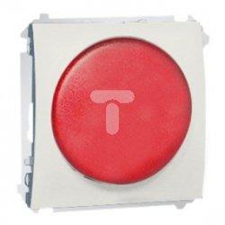 Simon Classic Sygnalizator świetlny LED – światło czerwone 230V ecru MSS/2.01/10 WMCS-020x2x-B013