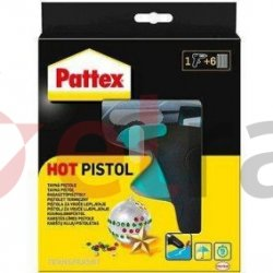 Pattex Pistolet termiczny + 6 pałeczek kleju