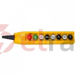 Kaseta suwnicowa przycisk bezp.+START+6x(NO+NO/2) PKS-3W08