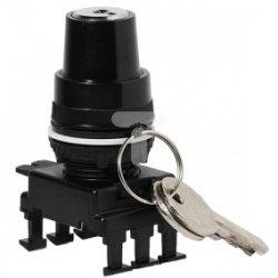 Napęd pokrętny z kluczem 1-0-2 30 st. /bez samopowrotu/ czarny HL85C3 004770109
