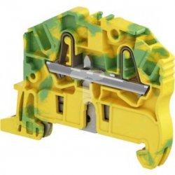 Złączka ochronna sprężynowa żółto-zielona 2,5mm2 ZK2.5-PE 1SNK705150R0000