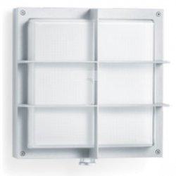 Oprawa LED z czujnikiem ruchu 8 metrów 360 stopni 16W 320lm ciepło-biała IP44 srebrne aluminimum numeryczna L 691 LED S 671716