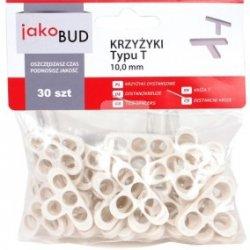 Krzyżyki dystansowe do glazury typ T 10mm M-01-014 /30 szt./