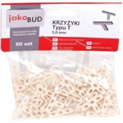 Krzyżyki dystansowe do glazury typ T 5mm M-01-011 /50 szt./