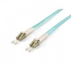 Patch cord światłowodowy LC/LC duplex MM 50/125 OM3 5m LSOH 255415