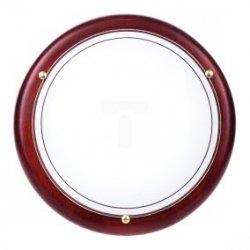 Plafoniera Kobi mała mahoń P1/2C 1x60W E27 fi260mm E14020100626