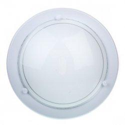 Plafoniera Kobi mała biała P1/1C 1x60W E27 fi260mm E14020100420