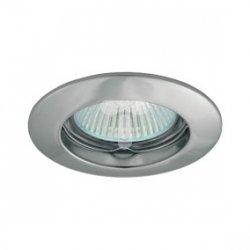 Oczko halogenowe MR16 GU5,3 50W odlewane, nieregulowane, matowy chrom AXL 5514 PO16P-CM GXPL005