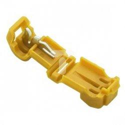 Szybkozłączka 1,0-2,5mm2 żółta 43-403# /100szt./