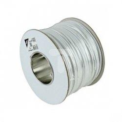 Przewód telefoniczno-alarmowy 6x0,5 linka biały /100m/