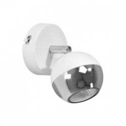 Kinkiet BIANCA 1x18 LED GU10 4,5W 360L biały/chrom 2512128