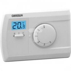 Termostat pokojowy THERMIO 603 230V AC 6A 5-35st.C zasilanie bateryjne 2x1,5V AAA 044600161