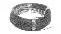 Przewód silikonowy SiF 1x0,75 czarny 300/500V 23401 /100m/