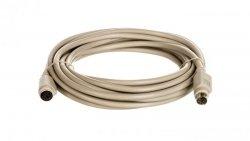 Kabel przedłużający PS/2 Typ miniDIN6/miniDIN6, M/Ż beżowy 5m AK-590200-050-E