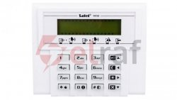 Klawiatura obsługi systemu alarmowego, LCD, do systemu Versa, Satel VERSA-LCD-GR