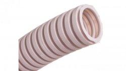 Rura karbowana 320N PVC fi 25mm szara ECTC122510 /10m/