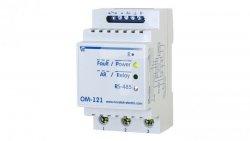 Ogranicznik mocy z miernikiem parametrów sieci OM-121