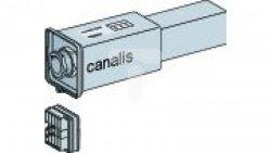 Canalis, kaseta zasilająca dla KBB, 40A, lewa, biała KBB40ABG4W