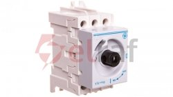Rozłącznik izolacyjny DILOS 00 16A 3P bez pokrętła D/061301-251 730985