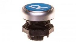 Napęd przycisku 22mm niebieski z samopowrotem bez adaptera symbol /R/ LPCB1176