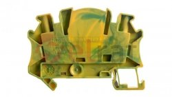 Złączka szynowa ochronna 4mm2 zielono-żółta UTMED 4-PE 3047478