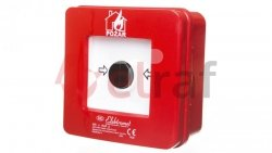 Ręczny ostrzegacz pożarowy 2R 12A IP65 WP-3s ROP A 921404