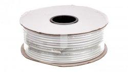 Przewód koncentryczny SAT KK 1,0/4,6 CCS biały 27527 /100m/