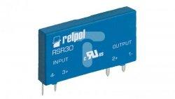 Przekaźnik półprzewodnikowy 1-polowy do druku 1A 100V DC wejście 7-20V DC RSR30-D12-D1-24-010-1 2612000