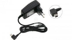 Ładowarka siecowa 5V/1,5A mini USB wtyk kątowy 78-480#