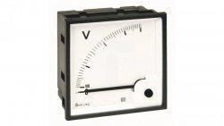 Woltomierz AC 72X72 pomiar bezp. 500V RQ72E AN25DDC500