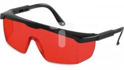 Okulary wzmacniające czerwone do laserów 15-102-20