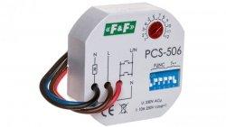 Przekaźnik czasowy 8-funkcyjny z wejściem START 10A 1Z 230V AC 0,1sek-24h PCS-506
