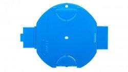 Puszka płytka 60mm p/t 41mm Ze śrubami niebieski S 60Kw 34068203